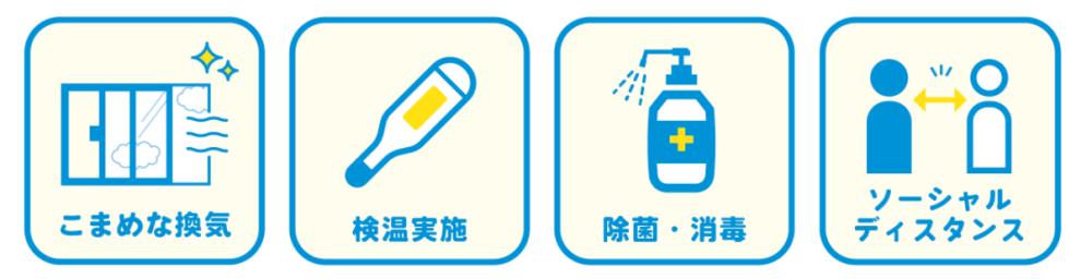 コロナウイルス感染対策