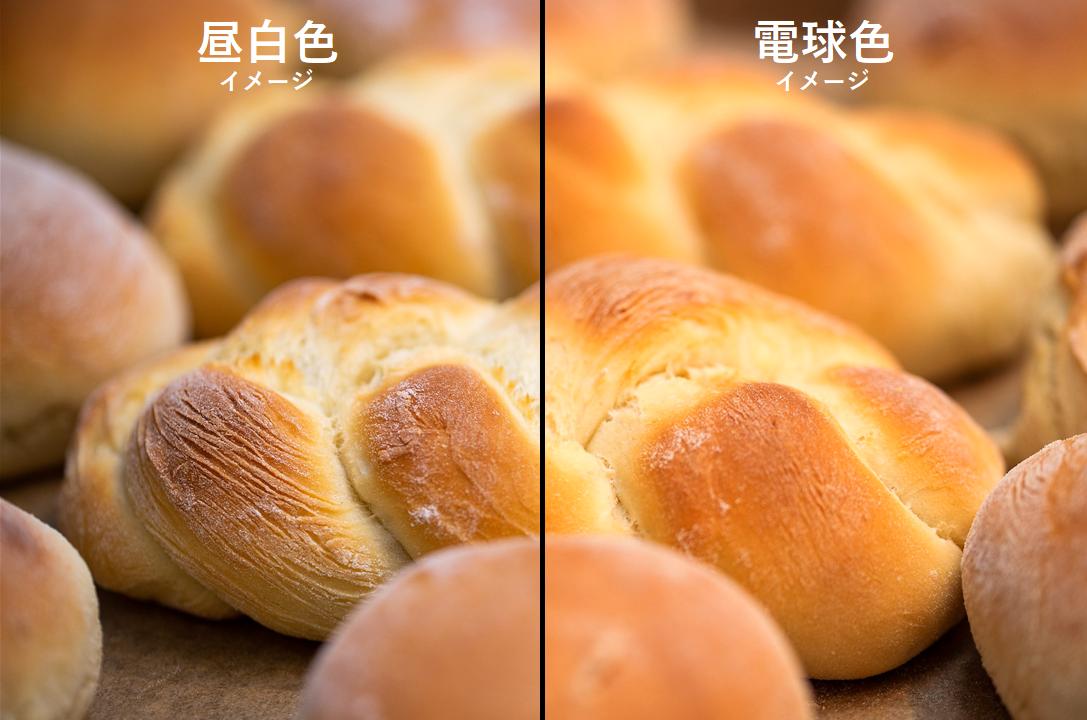 パンの照明